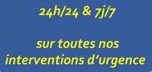 Intervention en urgence paris 3