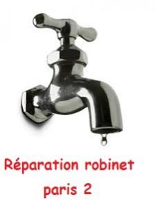 Réparation robinet paris 2