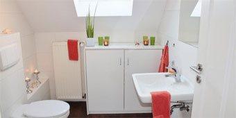 Installation d'une nouvelle salle de bains